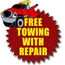 Free Towing Service w/ Major Repairs